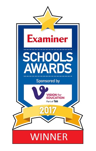 Exmainer Schools Logo 2017 Winner