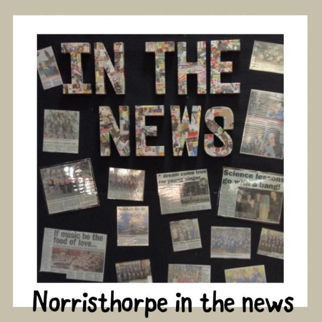 Norristhorpe in the News